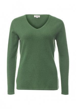 Пуловер Zaroo Cashmere. Цвет: зеленый