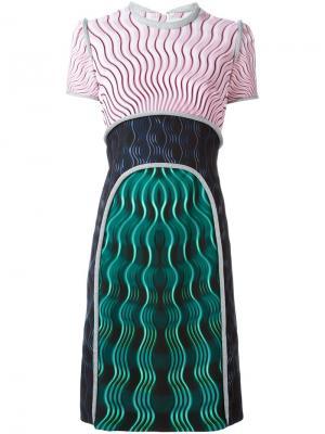 Платье Vitriol Mary Katrantzou. Цвет: многоцветный