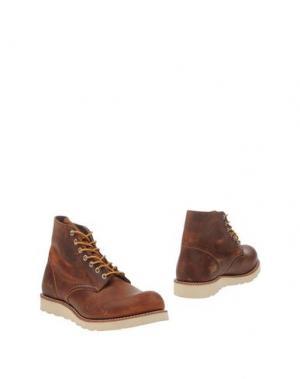 Полусапоги и высокие ботинки RED WING SHOES. Цвет: коричневый