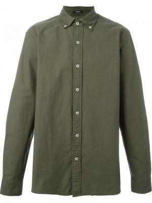 Рубашка Rhys GDO Denham. Цвет: зелёный