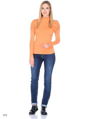 Водолазка Felis Chaus. Цвет: оранжевый