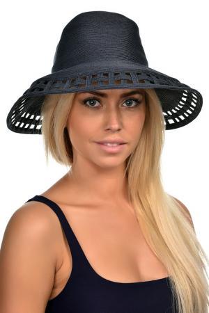 Шляпа DelMare. Цвет: темно-синий