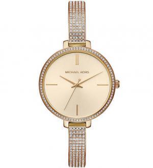 Часы с декоративной отделкой браслета Michael Kors