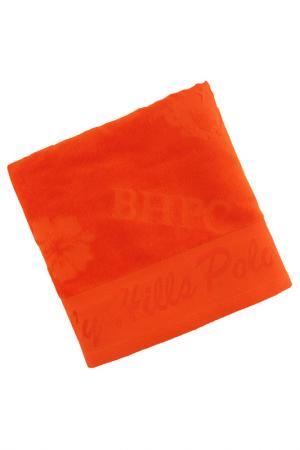 Полотенце для рук, 50х100 Beverly Hills Polo Club. Цвет: оранжевый