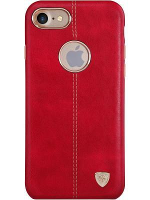 Накладка NillkinEnglon Leather Cover для Apple iPhone 7 Nillkin. Цвет: красный