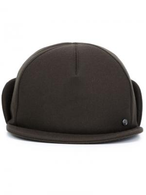 X Mackintosh cap Maison Michel. Цвет: чёрный