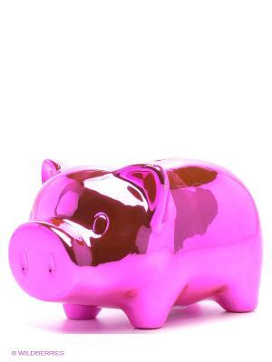 Набор для украшения копилки Свинка модница от 6 лет Alex. Цвет: розовый