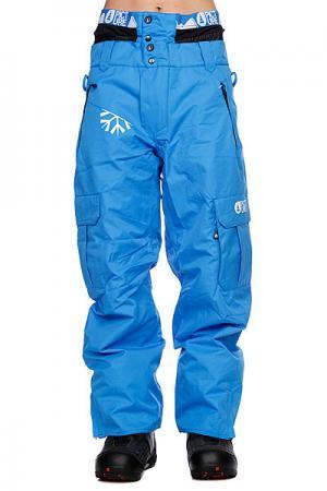 Штаны сноубордические  Honey Pant Blue Picture Organic. Цвет: голубой
