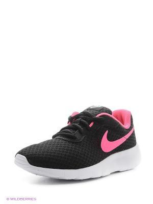 Кроссовки NIKE TANJUN (GS). Цвет: черный, розовый