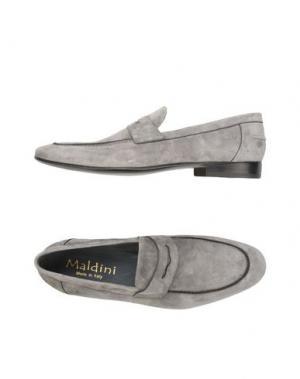 Мокасины MALDINI. Цвет: серый