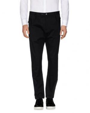Повседневные брюки CAMO. Цвет: черный