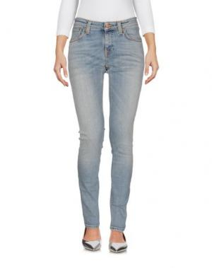 Джинсовые брюки NUDIE JEANS CO. Цвет: синий