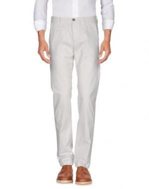 Повседневные брюки UNIFORM. Цвет: белый