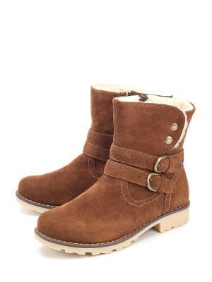 Ботинки Estiva. Цвет: коричневый