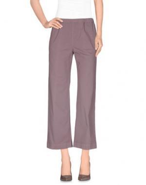 Повседневные брюки QL2 QUELLEDUE. Цвет: светло-коричневый