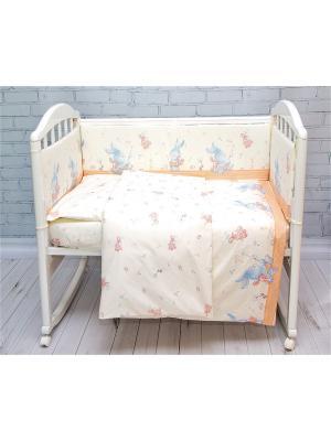 Бортик для кровати Baby Nice. Цвет: бежевый