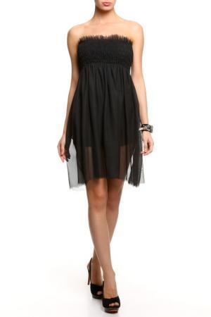 Платье Nicole Olivier. Цвет: черный