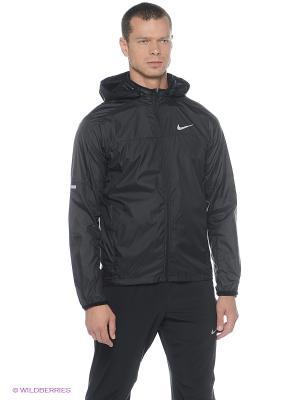 Ветровка VAPOR JACKET Nike. Цвет: черный