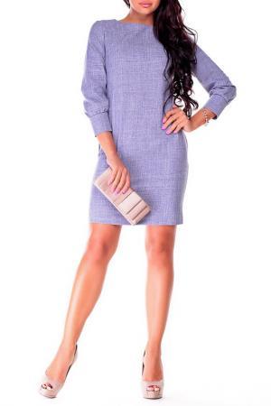 Платье Laura Bettini. Цвет: фиолетовая дымка