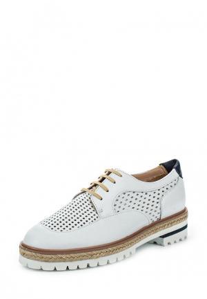 Ботинки La Coleccion. Цвет: белый