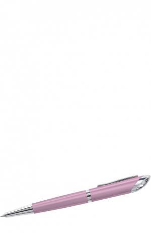 Шариковая ручка Crystal Starlight Swarovski. Цвет: розовый