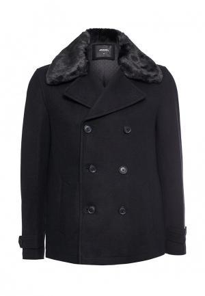 Пальто Burton Menswear London. Цвет: черный