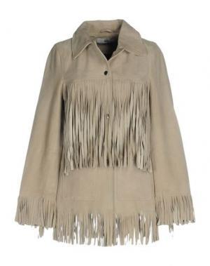 Куртка HIDE. Цвет: светло-серый