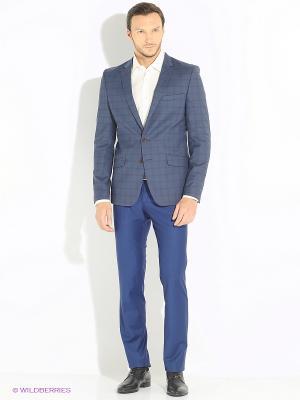 Пиджак BAZIONI. Цвет: голубой