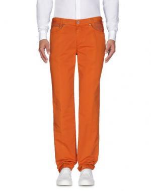 Повседневные брюки BETWOIN. Цвет: оранжевый
