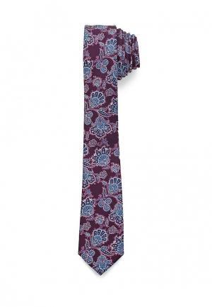 Галстук Burton Menswear London. Цвет: фиолетовый