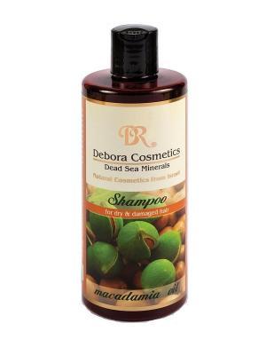 Шампунь с маслом макадамии для сухих и поврежденных волос Debora Cosmetics. Цвет: бежевый