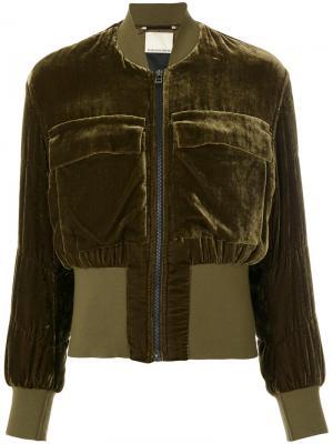 Banu jacket By Malene Birger. Цвет: зелёный