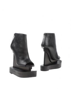 Полусапоги и высокие ботинки IRIS VAN HERPEN. Цвет: черный