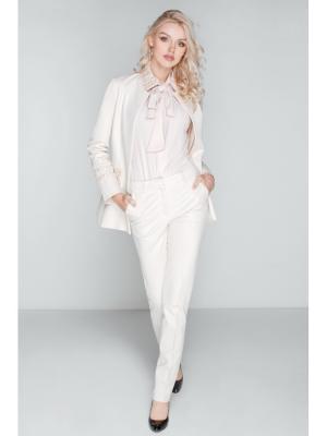 Легкие брюки с карманами DEMURYA. Цвет: белый