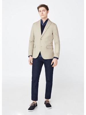 Пиджак - VELA8 MANGO MAN. Цвет: светло-серый, бежевый