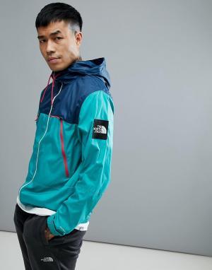 The North Face Куртка с капюшоном (зеленый/синий) 1990 Mountain. Цвет: зеленый