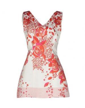 Короткое платье LUNATIC. Цвет: кирпично-красный
