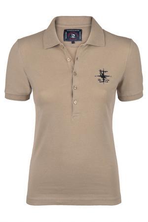 Рубашка-поло GIORGIO DI MARE. Цвет: бежевый