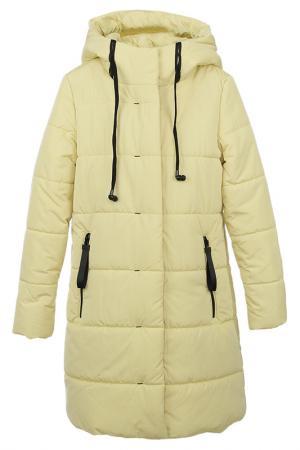 Пальто Vitacci. Цвет: лимонный
