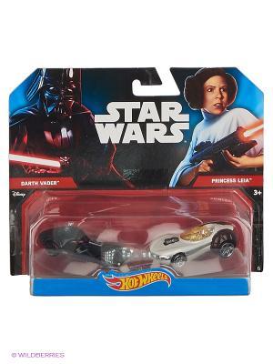 Машинки персонажей вселенной Звездные войны (упаковка из 2-х) Hot Wheels. Цвет: белый, черный