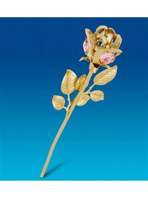 Фигурка Цветок с цв.кр. Юнион. Цвет: золотистый