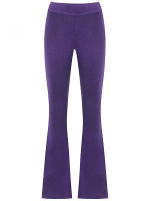 Knitted trousers Cecilia Prado. Цвет: розовый и фиолетовый