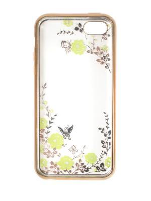 Чехол на iphone 5 JD.ZARZIS. Цвет: золотистый, зеленый