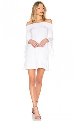 Платье agnes Riller & Fount. Цвет: белый