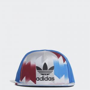 Кепка Snapback  Originals adidas. Цвет: разноцветный