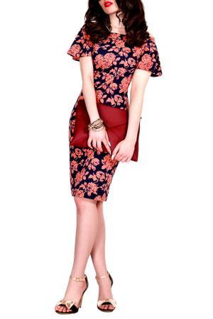 Платье MONT PELLIER. Цвет: оранжевый