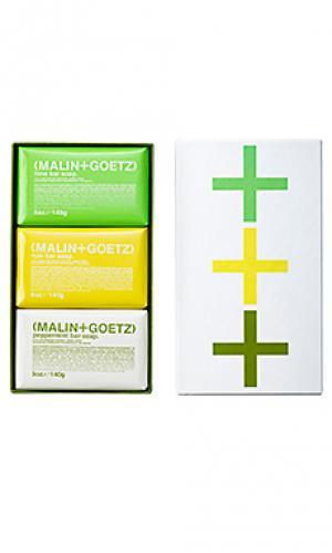 Набор мыла mojito MALIN+GOETZ. Цвет: beauty: na