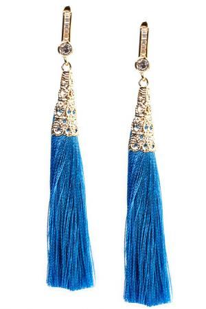 Серьги FRANSUA ARDY. Цвет: голубой