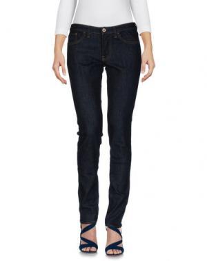 Джинсовые брюки PENCE. Цвет: синий