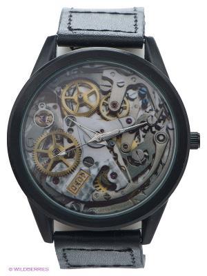 Часы Mitya Veselkov. Цвет: черный, желтый